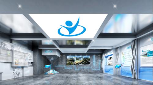 轻盐集团阳光城新办公楼企业文化展示施工和多媒体数字化展示施工项目